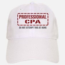 Professional CPA Baseball Baseball Cap