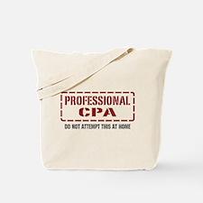 Professional CPA Tote Bag