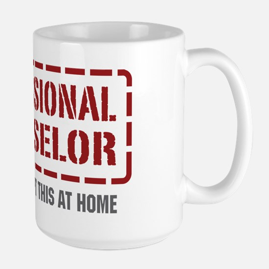 Professional Counselor Large Mug