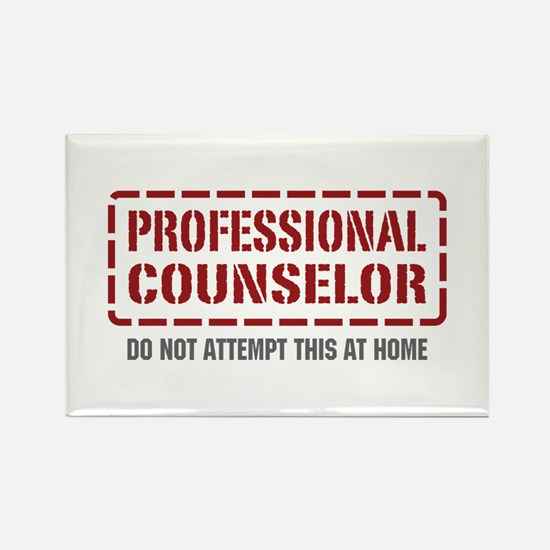 Professional Counselor Rectangle Magnet