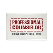 Professional Counselor Rectangle Magnet (10 pack)