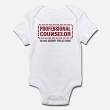 Professional Counselor Infant Bodysuit