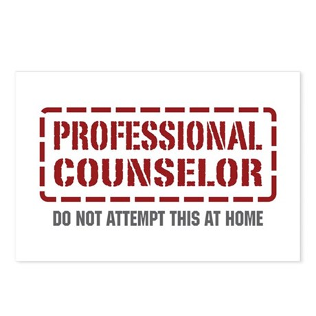 Professional Counselor Postcards (Package of 8)