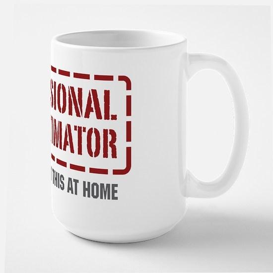 Professional Cost Estimator Large Mug