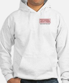 Professional Concrete Person Hoodie