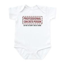 Professional Concrete Person Infant Bodysuit