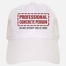 Professional Concrete Person Cap