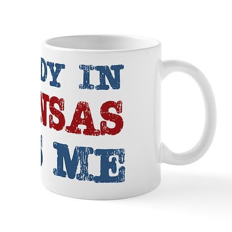 Somebody in Arkansas Loves Me Mug