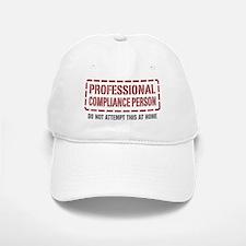 Professional Compliance Person Baseball Baseball Cap