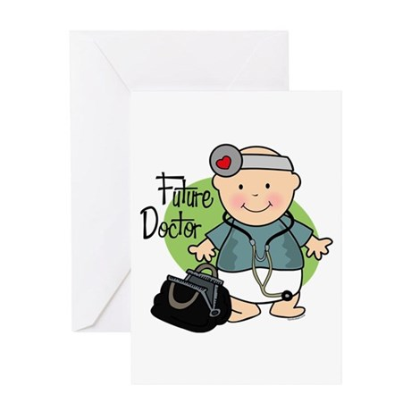 Future Doctor Greeting Card