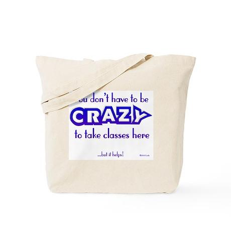 CRAZY (classes) Tote Bag