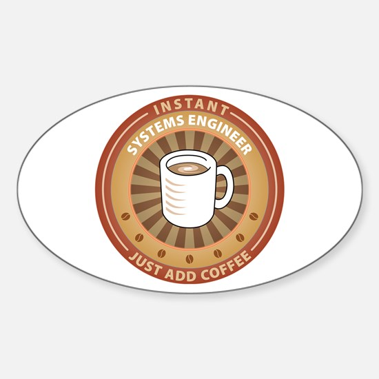 Instant Systems Engineer Oval Decal
