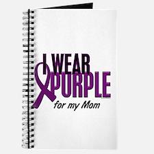I Wear Purple For My Mom 10 Journal