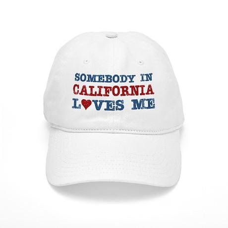 Somebody in California Loves Me Cap