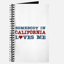Somebody in California Loves Me Journal
