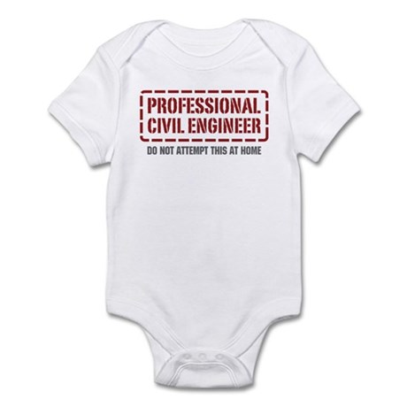 Professional Civil Engineer Infant Bodysuit