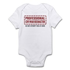 Professional Civi War Reenactor Infant Bodysuit