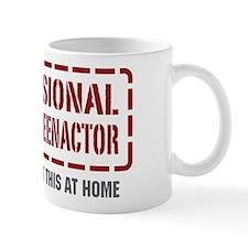 Professional Civi War Reenactor Mug