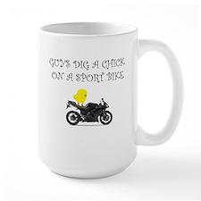 Sportbike Chick Mug