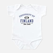 Property of Finland Infant Bodysuit