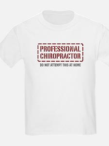Professional Chiropractor T-Shirt