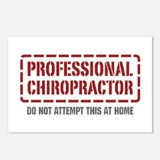 Professional Chiropractor Postcards (Package of 8)