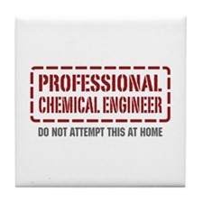 Professional Chemical Engineer Tile Coaster