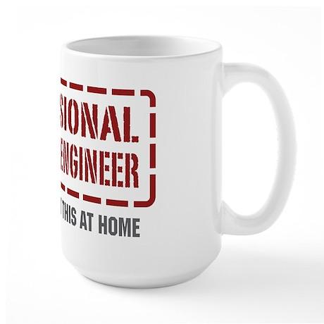 Professional Chemical Engineer Large Mug