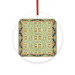 China (Green) Ornament (Round)
