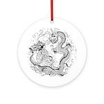 Dragon Lady Ornament (Round)