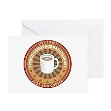 Instant Speech-Language Pathologist Greeting Card