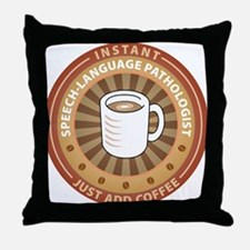 Instant Speech-Language Pathologist Throw Pillow