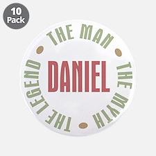 "Daniel Man Myth Legend 3.5"" Button (10 pack)"