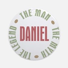 Daniel Man Myth Legend Ornament (Round)