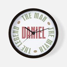 Daniel Man Myth Legend Wall Clock