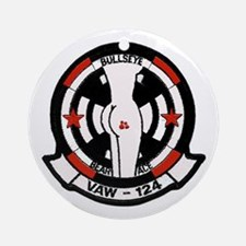 """VAW 124 """"Racy"""" Bare Aces Ornament (Round)"""