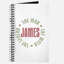 James Man Myth Legend Journal
