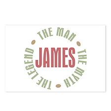 James Man Myth Legend Postcards (Package of 8)