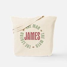 James Man Myth Legend Tote Bag