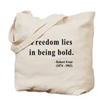 Robert Frost 2 Tote Bag
