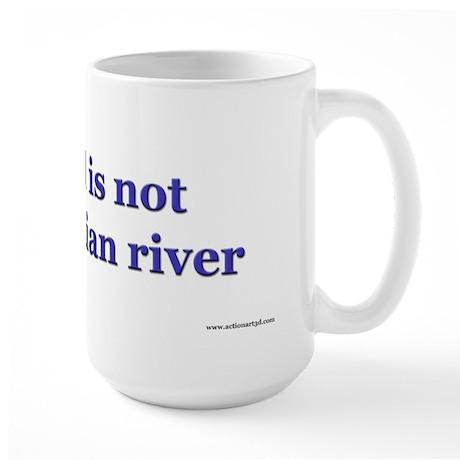 Denial Eqyptian Large Mug