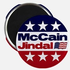 "McCain Jindal 2.25"" Magnet (10 pack)"