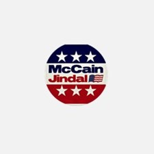 McCain Jindal Mini Button