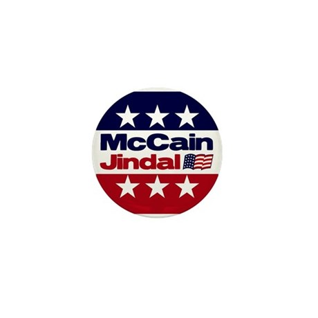 McCain Jindal Mini Button (100 pack)