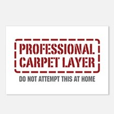 Professional Carpet Layer Postcards (Package of 8)