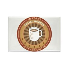 Instant Social Worker Rectangle Magnet (100 pack)