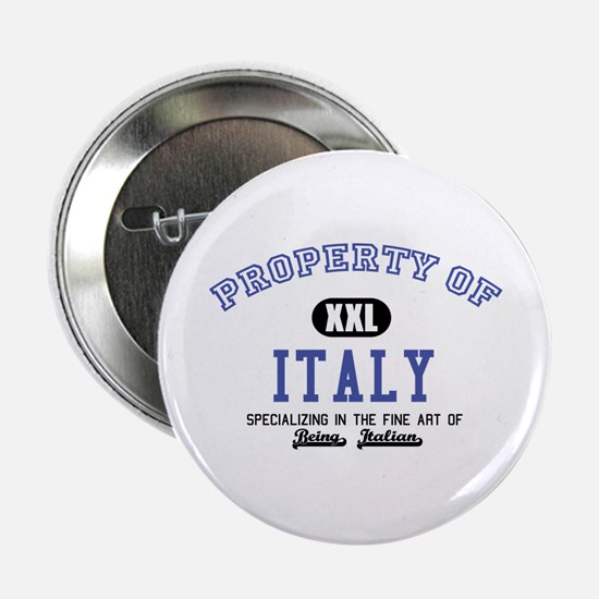 "Property of Italy 2.25"" Button"