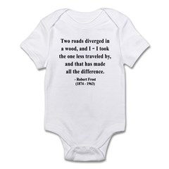 Robert Frost 1 Infant Bodysuit