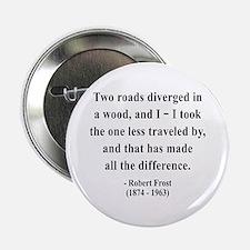 """Robert Frost 1 2.25"""" Button"""