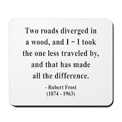 Robert Frost 1 Mousepad